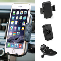 Universal Car CD Slot Dash Cell Phone Holder Mount Cradle for iPhone 6s 7 8 Plus