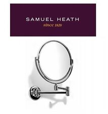 Samuel Heath Novis - Quality Shaving Magnifying Mirror with Double Pivotal Arm