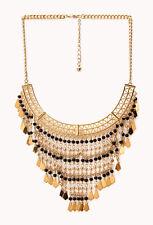 Woman Lady Fashion Jewelry Free Spirit Beaded Fringe Necklace