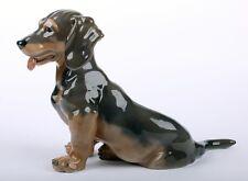 Royal Copenhagen Porzellan Dachshund, Dackel, Hund, dog Modell 856