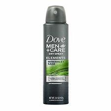 Dove Men+Care Elements Antiperspirant Deodorant Dry Spray MINERALS + SAGE 3.8 oz