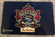 Heritage Classic Jets Oilers Tim Horton's CANADA Gift Card *No Value Reloadable