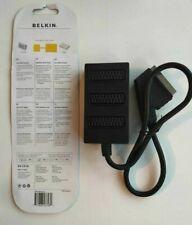 Belkin Scart Multi Adaptor 3-Way Multi Adaptor 3 x Scart Female / 1 x Scart Male