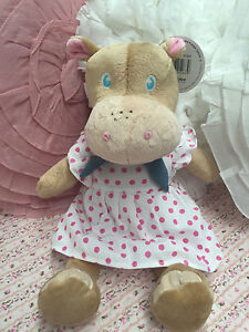 Baby Girl super soft Large Toy Hippo