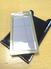 YSL Gold Effect Handbag Mirror
