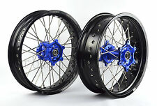 "YAMAHA WR250X WR 250X FRONT/REAR 17""/17"" SUPERMOTO WHEELS SET 2008-2016 I RMY07"