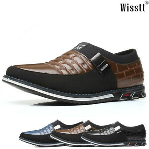 Mens Loafers Moccasins Oxford Office Outdoor Walking Penny Driving Dress Shoes