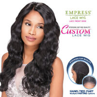 Sensationnel Synthetic Lace Front Wig Empress Edge Custom Lace Body Wave