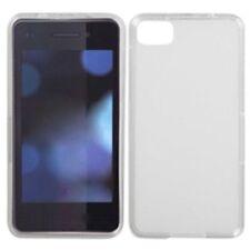 Étuis, housses et coques blancs transparents pour téléphone mobile et assistant personnel (PDA) Blackberry