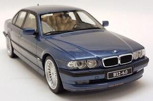Otto 1/18 Scale - BMW Alpina B12 6.0 (E38) Blue Metallic Resin Model Car