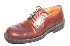 Men's ECCO City Classic Brown Leather Lace Up Loafers Size EU 46 US 12/12.5
