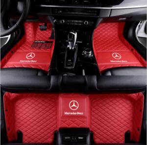 Luxury custom Suitable 1998-2021 Mercedes-Benz all models waterproof floor mats
