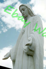 "Wood Carving ""MARY"" Saint-Jean-Port-Joli Quebec Canada 1959 Kodak 35mm Slide"
