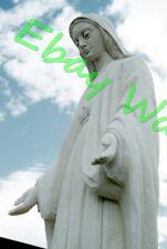 "Wood Carving ""MARY"" Saint-Jean-Port-Joli Quebec Canada 1959 Kodak 35mm Slide"