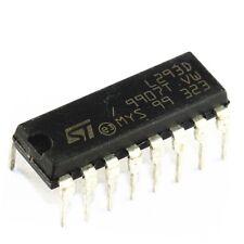 10PCS IC L293D ST DRVR P/P 4CH W/DIODES 16-DIP NEW