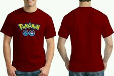 Pokemon Go T Shirt ( Maroon / Unisex / for 2pcs)