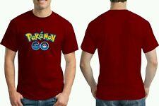 Pokemon Go T Shirt ( Maroon / Unisex / for 2pcs)