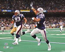TY LAW PICK SIX New England Patriots Super Bowl XXXVI Premium NFL POSTER Print