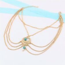GOLD CHAIN ANKLET SILVER CHAIN ANKLET MULTI CHAIN ANKLET BOHO BEACH CHIC CUTE