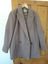 ASOS 'Pea Coat' Style Winter Coat Size 10