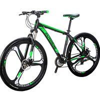 """29"""" Mountain Bike Shimano 21 Speed  Aluminium Mens Bicycle 29er DIsc Brake XL"""