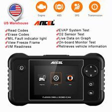 Automotive OBD2 Scanner Car Engine +Transmission+ ABS Reset + Airbag Diagnostic