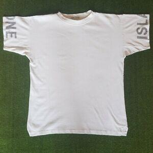 "Rare 1992/3 Stone Island Stencil Sleeve Tee Size Medium 21.5"" PTP Archivo Osti"