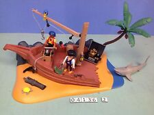 (O4136.2) playmobil épave bateau pirates ref 4136