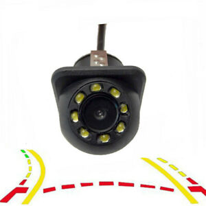 Car Rearview camera Parking Line Back up Assistance Video RCA/AV Input