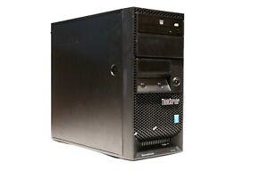 Desktop/Server Computer - Lenovo TS140 - 3.2 GHz Intel Xeon CPU - 16GB RAM