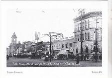 "*Postcard-""Topeka Townsite""   ...Classic  *Topeka, Kansas (#138)"