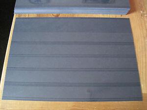 100  Einsteckkarten  A5  mit Folie und 5 Streifen-LEUCHTTURM- Neuware-