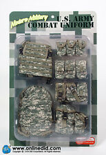 DRAGON IN DREAMS 1/6 MODERN US CARDED U.S. ARMY COMBAT UNIFORM - ITEM NO: E60052