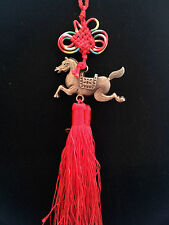 Feng Shui Tribute Horse Hanging Charm Amulet for good luck