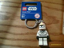 LEGO STAR WARS CLONE PILOT KEY CHAIN NEW