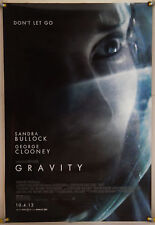 GRAVITY DS ROLLED ADV ORIG 1SH MOVIE POSTER SANDRA BULLOCK GEORGE CLOONEY(2013)