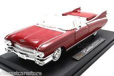 Maisto 1959 Cadillac Eldorado Diecast cars 1/18 36813RD