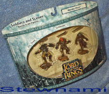 LOTR Aome Mordor Orcs ORC SCOUT GRISHNAKH & SNAGA 3 Pk Lord of The Rings Hobbit