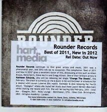 (DA175) Best Of 2011, New In 2012 - 11 tracks various artists - 2012 DJ CD