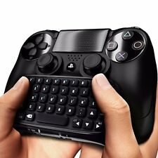PLAYSTATION PS4 KEYBOARD BLACK/Mini/Bluetooth sans fil clavier Joystick manettes