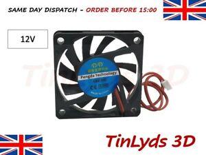 DC Brushless Cooling PC Computer Fan 12V - 6010 60 x 60 x 10mm - 2 Pin Fan