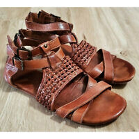 Bed Stu Womens Gladiator Sandals Size 10 Capriana Leather Brown