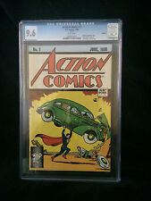 Action Comics (Reprint) #1 1988 CGC 9.6  White pages 1st appearance Superman