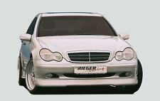 Rieger Front alerón labio para Mercedes Benz clase C w203 Classic/Elegance