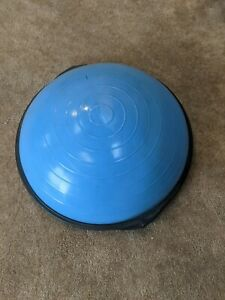 BOSU SPORT BALANCE BALL TRAINER-HOME FITNESS TRAINING-Excellent Condition!