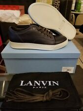 Lanvin Paris Cap Toe leather sneakers sz uk 7 #1720286  Brand new. Half price!