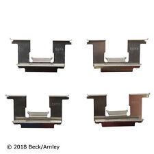Beck/Arnley 084-1191 Front Disc Brake Hardware Kit