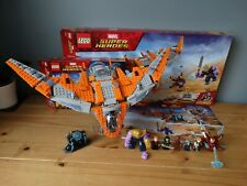Lego Marvel Super Heroes Thanos Ultimate Battle 76107 & 76102 plus display stand