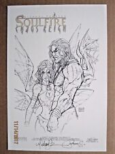 2006 SOULFIRE CHAOS REIGN #1C MINI PRINT SIGNED M TURNER/P STEIGERWALD 161/200