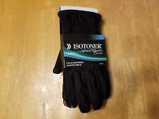 Mens Isotoner Gloves - Smart Touch Technology - Large - Smartphone